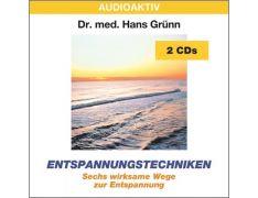 Dr. med. Hans Grünn: Entspannungstechniken (2 CDs)